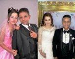 بعد خطوبة استمرت 6 أعوام.. زواج أصغر عروسين