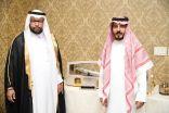 رئيس مجلس إدارة شركة النقاء الذهبي  يكرم الزهراني بحصوله على درجة برفسور