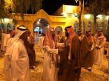 ولي العهد يزور الشيخ سعد الشثري في منزله بالطائف