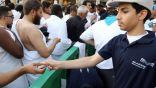 120 طالبا يشاركون في سقيا زمزم بالحرم المكي