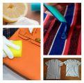 التخلص من بقع الزيت ووبر الملابس والمزيد عبر حلول بسيطة !