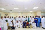 """شاهد.. تكرّيم 27 موظفاً حققوا جائزة التميز بمستشفى """"وادي الدواسر"""""""