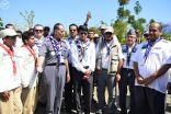 الأمير بندر بن عبدالله يزور الوفد الكشفي السعودي المشارك في الكشفي العالمي باليابان