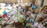 أمانة عسير تتلف أكثر من 4 آلاف كيلو من المواد الغذائية الفاسدة