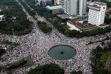 إندونيسيا: مئات الآلاف من المسلمين يتظاهرون ويطالبون بمحاكمة محافظ جاكرتا
