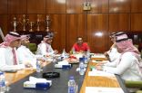 إدارة الاتفاق تحضر للاجتماع الشرفي و(جميل) يرفع وتيرة الاستعداد للفتح