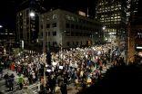 مظاهرات حاشدة في عدد من المدن الأمريكية اعترضاً على فوز ترامب برئاسة