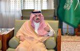 أمير الرياض يوجه بالقبض على الشخص المعتدي على طبيب في السليل وإحالته إلى جهات الاختصاص للتحقيق معه