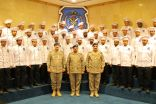 قائد القوات الجوية المكلف يبدي اعجابه بعدد من ابناء الوطن الطهاة