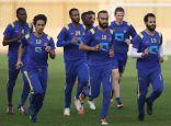 النصر يواصل استعداداته للخليج وبرونو وشيعان يواصلان التأهيل بالملعب