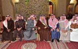 سمو أمير الرياض يعزّي أسرة القصبي في وفاة والدهم
