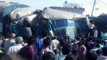 مصرع 60 شخصا وإصابة 150 في حادث قطار ركاب في الهند