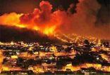بالصور: اندلاع حرائق هائلة في عدة مدن من إسرائيل