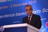 سلمان بن إبراهيم .. حريصون على استثمار الأبحاث العلمية للمحافظة على سلامة اللاعبين