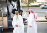 الدفعة الأولى من ضيوف خادم الحرمين الشريفين تصل إلى مكة