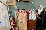 الأمير فيصل بن بندر يزور قصر الملك عبدالعزيز التاريخي بالخرج