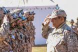 """قائد المنطقة الشمالية: """"رعد الشمال"""" تمثل نقلة نوعية في استخدام كافة القوات في الميدان"""