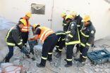 """""""مدني مكة"""" يباشر حادث انهيار سقف بمنزل بطريق الخواجات – وتصرح بوفاة أحد العمال"""