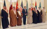 وزراء خارجية دول مجلس التعاون الخليجي يعقدون اجتماعاً مشتركاً مع وزير الخارجية الأمريكي