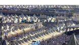 حجاج بيت لله الحرام يتوافدون إلى مشعر منى ملبين في ظل توفر الخدمات المجهزة لرحتهم