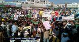 تظاهرات حاشدة في مدينتي عدن وتعز اليمنيتين تؤكد رفضها لمبادرة السلام التي قدمها المبعوث الأممي مؤخراً 