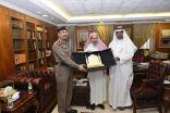 مدني مكة: الدليوي يجتمع مع الخزيم لوضع مناقشة السلامة بالحرم المكي الشريف