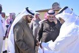 محافظ خيبر يقوم بجولة ميدانية لبلدية خيبر والمشاريع القائمة