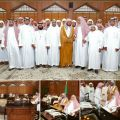 سماحة المفتي عام المملكة يستقبل المشاركين في المسابقة المحلية (18)
