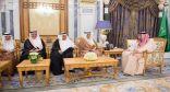 خادم الحرمين يستقبل عددا من أصحاب المعالي الوزراء السابقين والكتاب والمثقفين