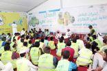 مسئولون حكوميون ورجال أعمال ومتطوعون يسجلون ١٢ ألف ساعة تطوعية بمخيم رمضاني بالخبر