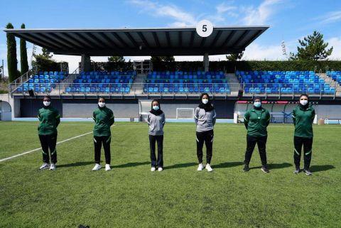 إدارة كرة القدم النسائية تختتم برنامج المعايشة للمدربات السعوديات في أسبانيا