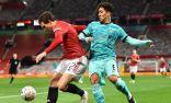 ليفربول يودع كأس الاتحاد الإنجليزي  بعد هزيمة غير مستحقة من مانشستر يونايتد 3/2