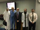 """البروفيسور ساس يلقي محاضرات في جدة ومكة لتعريف الأطباء بتقنية """"انكوثيرميا"""" وفعاليتها في تخفيف آلام المرضى والتسريع بشفائهم"""