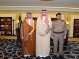 نائب أمير الشرقية يستقبل مدير الدفاع المدني السابق اللواء محمدالزهراني