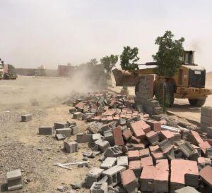 أمانة جدة تستعيد أراضٍ حكومية في حي البركة