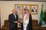 وزير الحج والعمرة .. يستقبل سفير الجمهورية القيرقيزية بالمملكة