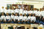 فرقة بني مليك  الشابه تزور جمعية الثقافه والفنون بابها