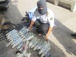 جسر الملك فهد يتمكن من إحباط تهريب 274 زجاجة خمر