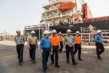 ياسرف تصدر أول شحنة فحم بترولي بتقنية آلية متكاملة من ميناء ينبع