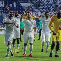 الأخضر يفوز على لبنان بهدفين ويتأهل لدور الـ 16