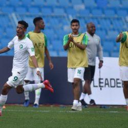 الاخضر الشاب السعودي يفتتح مشوار كأس العرب برباعية في فلسطين