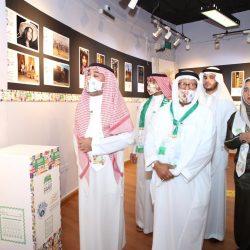 أدبي الباحة يحتفل باليوم الوطني الـ90 وسط رجال الأمن