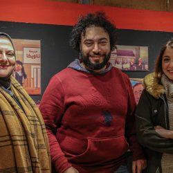 إضاءة محكمتي عابدين ومصر الجديدة باللون الأرجواني احتفالاً باليوم العالمي للمرأة .
