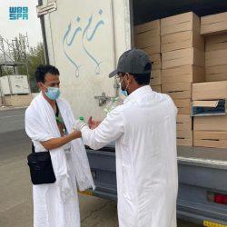 سمو وزير الداخلية يتابع نفرة الحجاجمن عرفات إلى مزدلفة