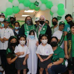 مناشط فريق انتماء التطوعي بجازان في اليوم الوطني