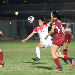 منتخب لبنان يفوز على منتخب السودان في كأس العرب للسيدات