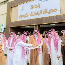 سمو أمير منطقة الباحة يكرم مدير شرطة المنطقة السابق